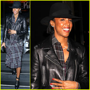 Kelly Rowland Bumps Butts With Husband Tim Witherspoon During Date Night! (Video)
