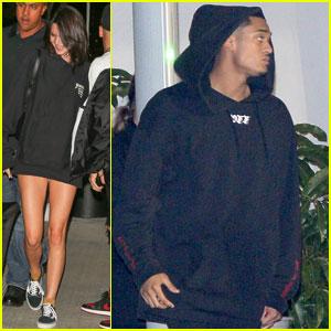 Kendall Jenner & Rumored Beau Jordan Clarkson Couple Up for Kanye West's L.A. Concert