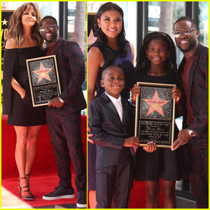 Kevin Hart Gets Support From Halle Berry & His Family at Walk of Fame Ceremony