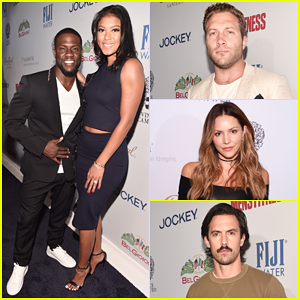 Kevin Hart, Jai Courtney & Katharine McPhee Celebrate Men's Fitness' 2016 Game Changers!