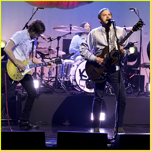 Kings Of Leon Perform 'Waste A Moment' Live On 'The Tonight Show' - Watch Here!
