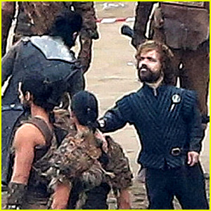 Kit Harington & Peter Dinklage Film Beach Scene for 'Game of Thrones' Season 7!