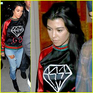Kourtney Kardashian Is Getting Into the Halloween Spirit!