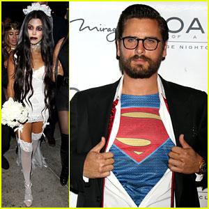 Kourtney Kardashian & Scott Disick Dress Up for Halloween 2016