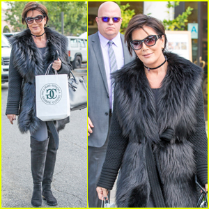 Kris Jenner Amps Up Security For Afternoon Out
