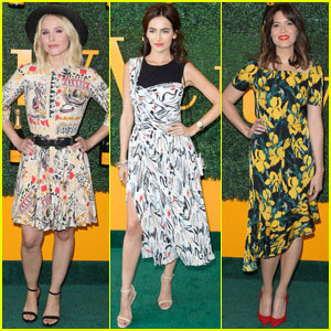Kristen Bell & Camilla Belle Are Polo Classic Beauties!