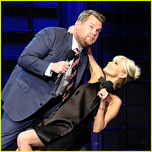 Kristin Chenoweth, Beth Behrs, & Julie Chen Compete for Duets with James Corden - Watch Now!