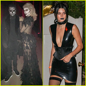 Kylie Jenner Hosts Epic Halloween Dinner with Tyga & Kendall ...