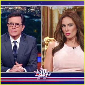 Laura Benanti Reprises Melania Trump Impression for Colbert Spoof (Video)