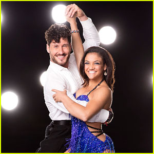 Laurie Hernandez Stuns With a Salsa on DWTS - Watch Now!