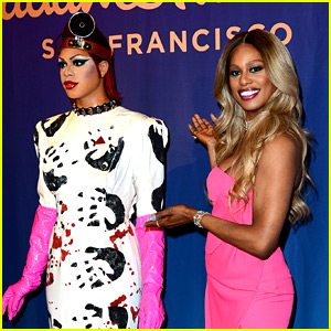 Laverne Cox Debuts Her 'Rocky Horror' Themed Wax Figure!