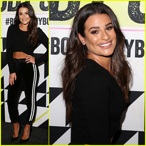 Lea Michele Shows Off Her Healthy Habits Ahead of Shape Body Shop Event in NYC!