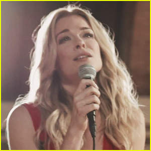LeAnn Rimes Debuts 'How To Kiss A Boy' Acoustic Church Session Video - Watch Now!