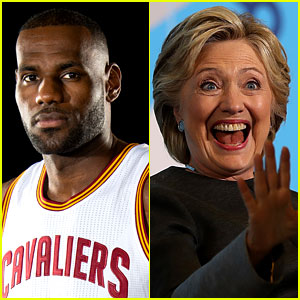 LeBron James Endorses Hillary Clinton in Op-Ed Article