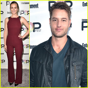 Leighton Meester & Justin Hartley Hit Up EW's PopFest 2016