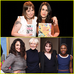 Lena Dunham Helps 'Beauty Of A Friend' Abbi Jacobson Launch 'Carry This Book!