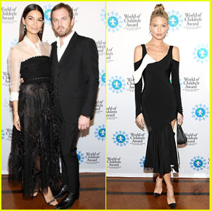 Lily Aldridge Honored at World of Children Awards Ceremony!