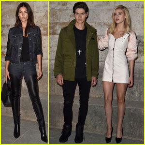 Lily Aldridge & Nicola Peltz Are Givenchy Paris Beauties