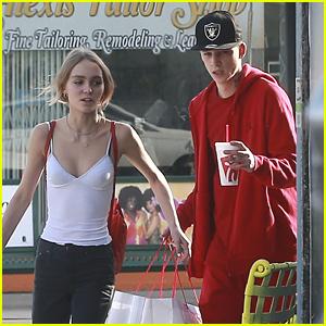 Lily-Rose Depp & Boyfriend Ash Stymest Shop Around in LA