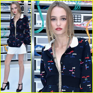 Lily-Rose Depp's Parents Are Proud of Her Chanel Gig