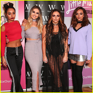 Little Mix Host Book Signing After Reaching #1 With 'Shout Out To My Ex'