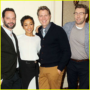 'Loving' Stars Ruth Negga & Joel Edgerton Celebrate Awards Buzz at NYC Luncheon