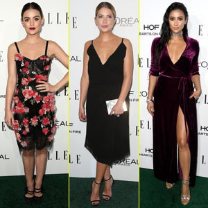 The 'Pretty Little Liars' Stun at Elle Women in Hollywood Awards