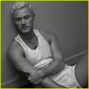Luke Evans Poses in His Underwear for Sexy 'Interview' Spread