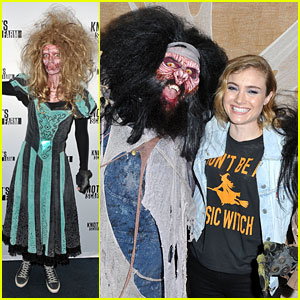 Lydia Hearst Becomes Ghost Town Monster for Knott's Scary Farm!