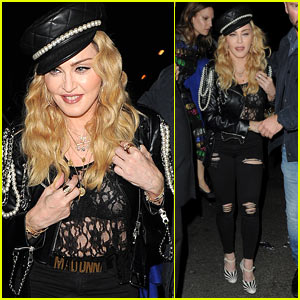 Madonna Parties at Mert & Marcus Exhibition!