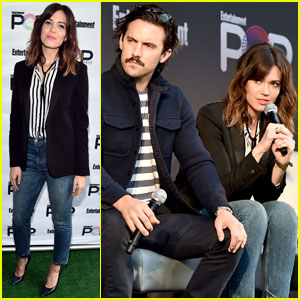 Mandy Moore & Milo Ventimiglia Bring 'This Is Us' to PopFest