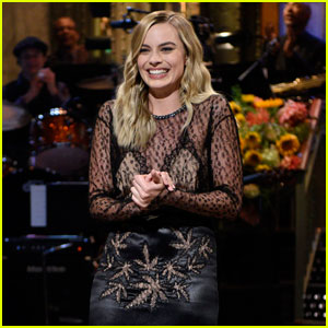 Margot Robbie Fact-Checks Her Own 'SNL' Opening Monologue - Watch Here!
