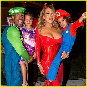 Mariah Carey Celebrates Halloween Early with Kids & Ex Nick Cannon ...