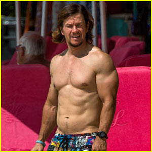 Mark Wahlberg Continues Showing Off His Hot Body in Barbados!