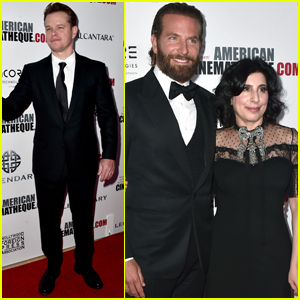 Matt Damon & Bradley Cooper Step Out at American Cinematheque Awards