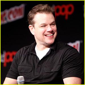 Matt Damon Promotes 'Great Wall' on His Birthday, Debuts New Trailer at Comic-Con