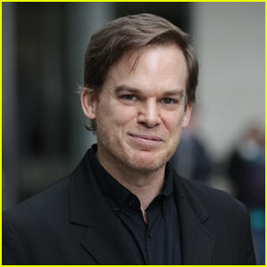 Michael C. Hall Heads to an Interview in London