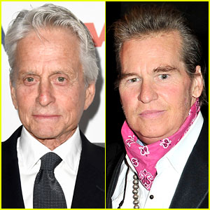 Michael Douglas Says Val Kilmer Has Cancer