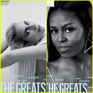 Lady Gaga, Michelle Obama, & More Are T's 'The Greats'!