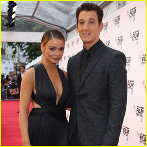 Miles Teller Brings 'Bleed for This' to London With Keleigh Sperry