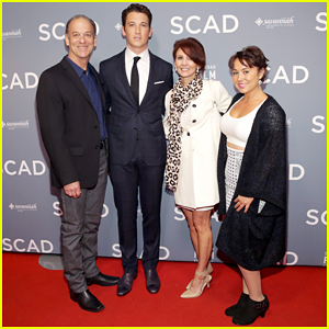 Miles Teller Makes It A Family Affair At Savannah Film Fest Vanguard Award Ceremony!