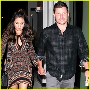 Nick Lachey & Pregnant Wife Vanessa Hold Hands for Date Night at LA's New Hotspot!