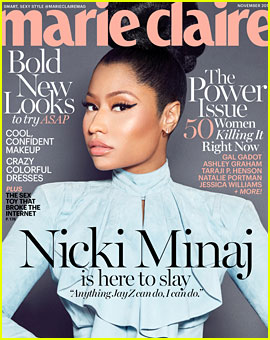 Nicki Minaj Comments on Competing with Male Rappers