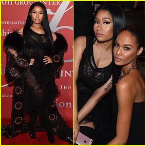 Nicki Minaj Wears Givenchy to Honor Designer Riccardo Tisci