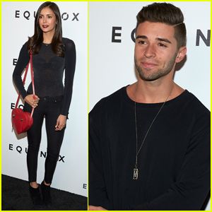 Nina Dobrev & Jake Miller Celebrate Equinox Art Exhibit