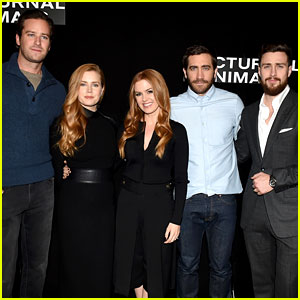 'Nocturnal Animals' Cast Meets the Press at L.A. Photo Call!