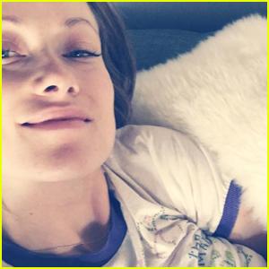 Olivia Wilde Shares Intimate Photo Breastfeeding Newborn Daughter Daisy