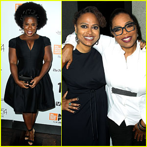 Oprah Winfrey Supports Director Pal Ava DuVernay at New York Film Festival Opening