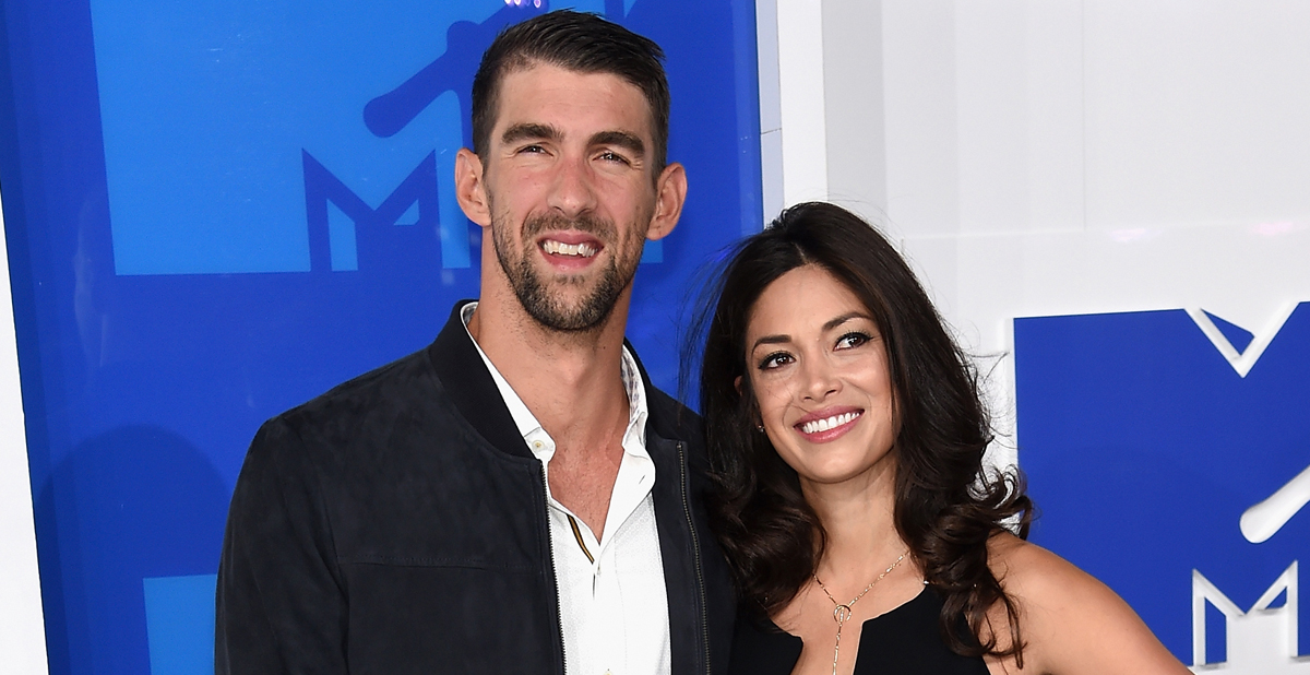 Michael Phelps & Wife Nicole Share First Wedding Photos!