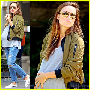 Pregnant Olivia Wilde's Baby Bump is Getting Bigger & Bigger!